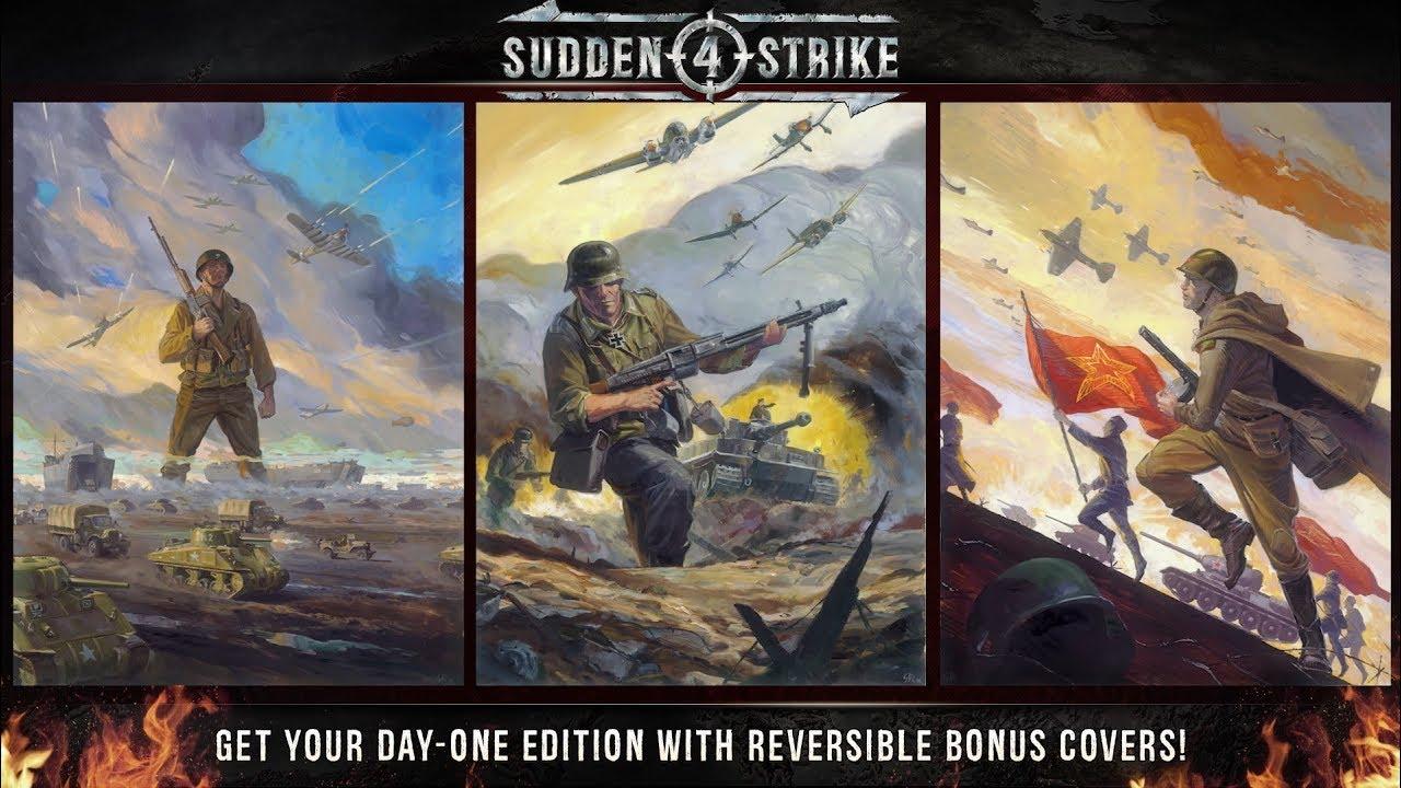 Joc Sudden Strike 4 Limited Day One Edition pentru PC 3