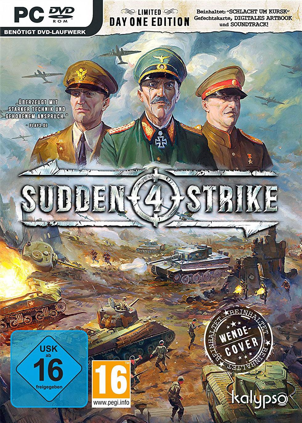 Joc Sudden Strike 4 Limited Day One Edition pentru PC 0