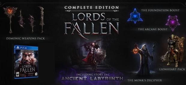 Joc Lords Of The Fallen Complete Edition pentru PS4 4