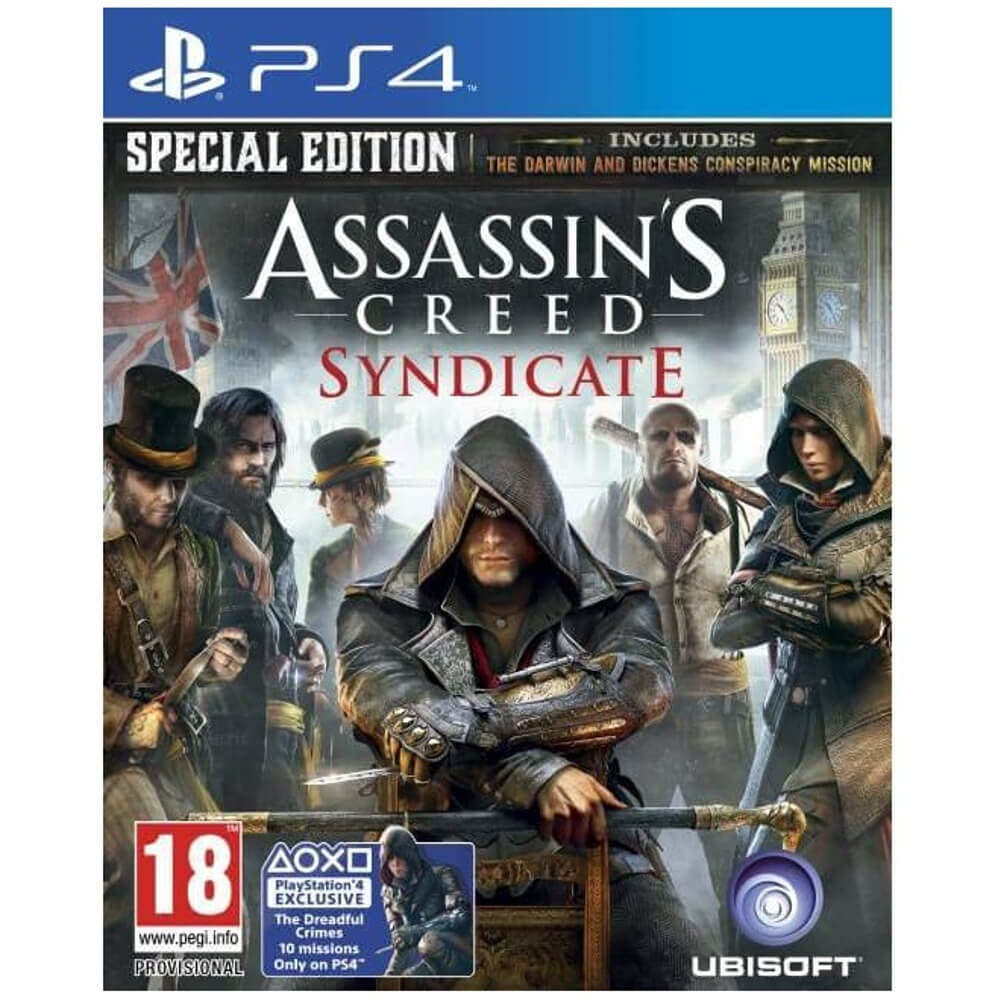 Joc Assassin's Creed: Syndicate Special Edition (The Dreadful Crimes 10 Missions) Exclusiv pentru PS4 0