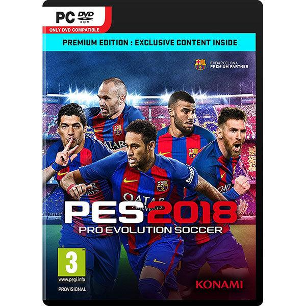 Pro Evolution Soccer (PES) 2018 Premium Edition PC 0