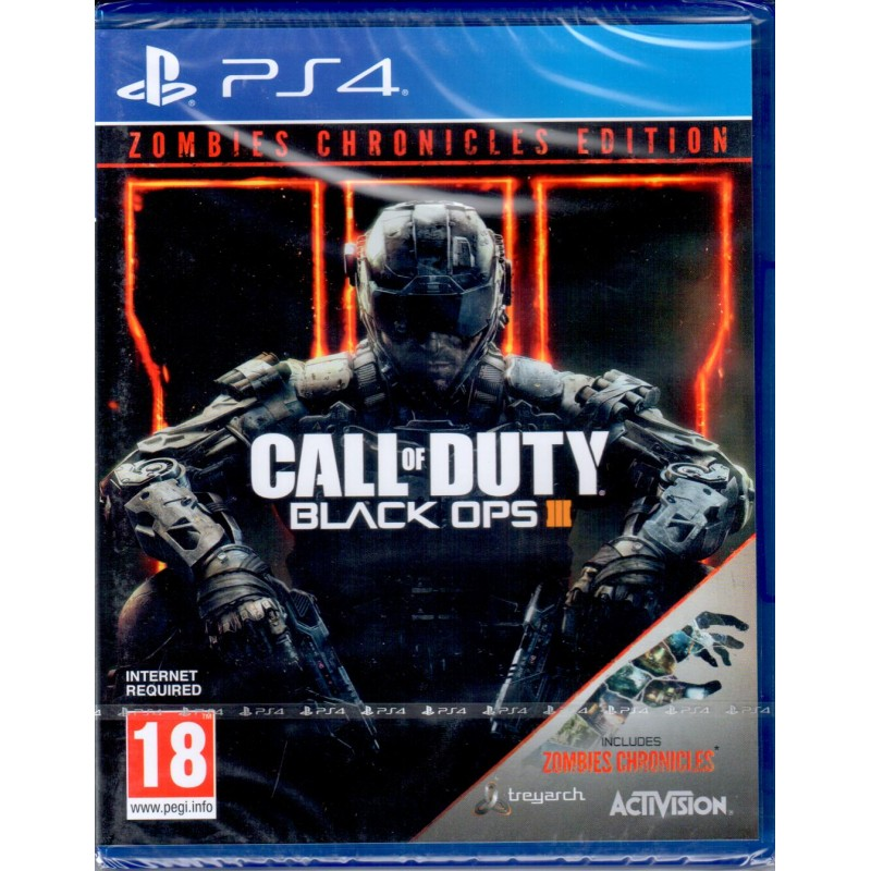 Call of Duty Black Ops III Zombies Chronicles Edtition pentru PS4 0