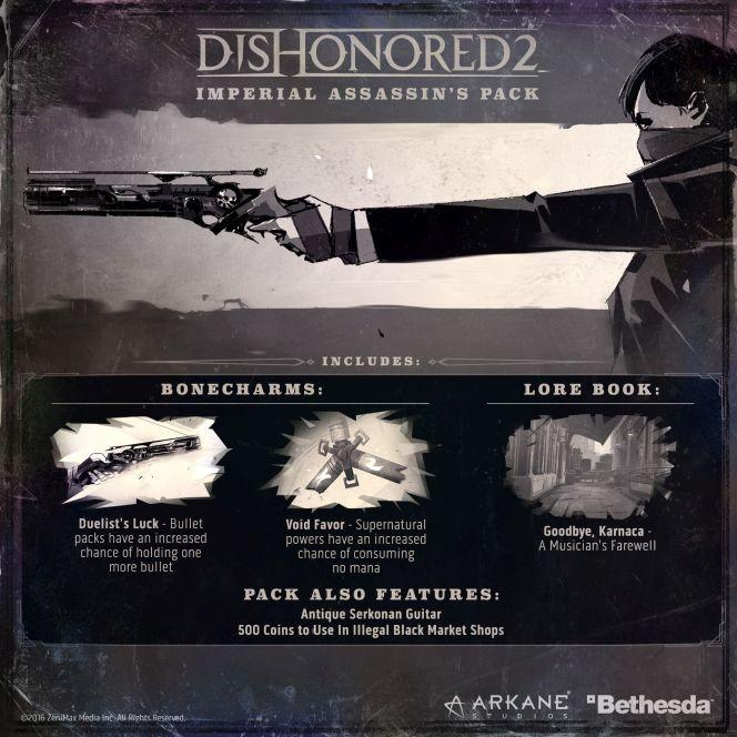 Joc Dishonored 2 + Digital Imperial Assassin's Pack pentru PS4 1