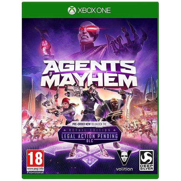 Joc Agents of Mayhem Day One Edition pentru Xbox One 0