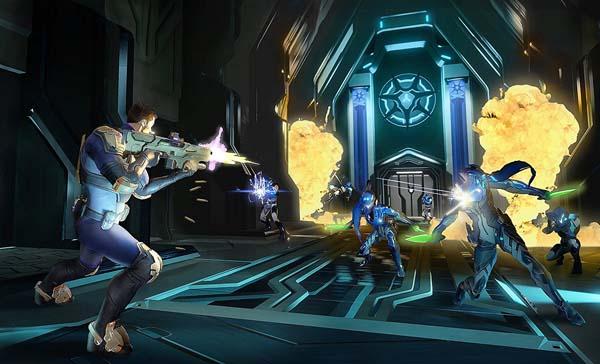 Joc Agents of Mayhem Day One Edition pentru Xbox One 1