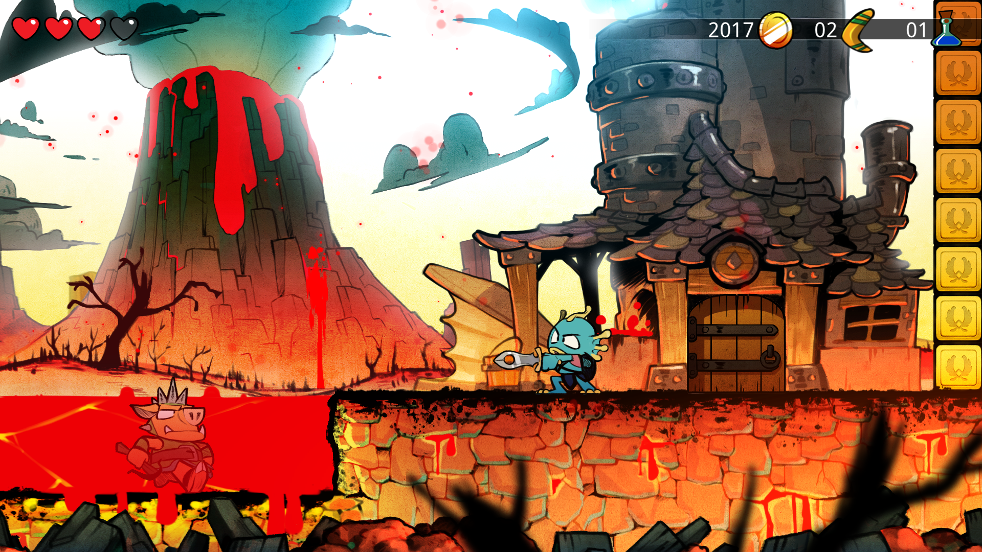 Joc Wonder Boy: The Dragon's Trap pentru PS4 2