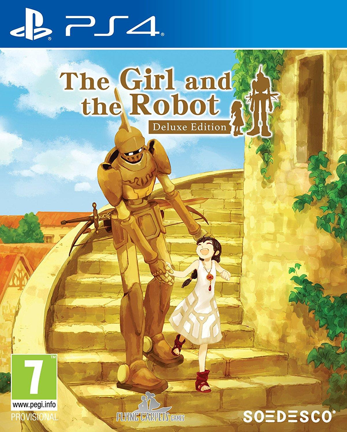 Joc The Girl and the Robot Deluxe Edition pentru PS4 0