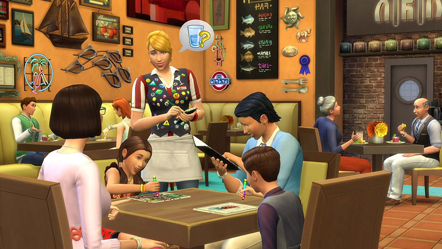 The Sims 4 Dine Out DLC [Cod activare Origin] 2