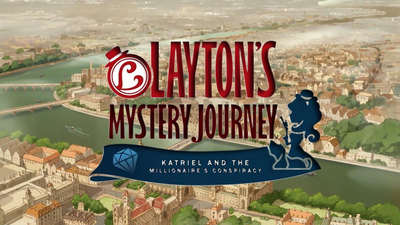 Joc Laytons Mystery Journey Katrielle and the Millionaires Conspiracy pentru Nintendo 3DS 1