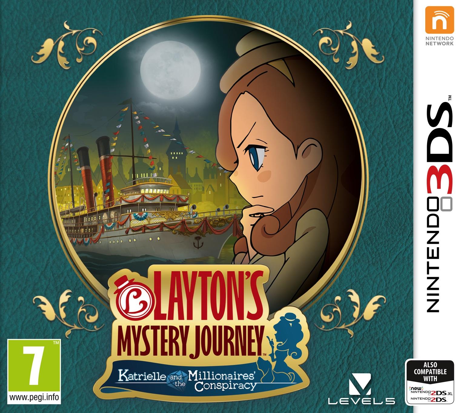 Joc Laytons Mystery Journey Katrielle and the Millionaires Conspiracy pentru Nintendo 3DS 0