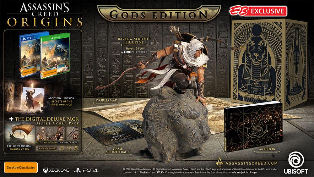 Joc Assassin's Creed Origins Gods Edition pentru Xbox One 3