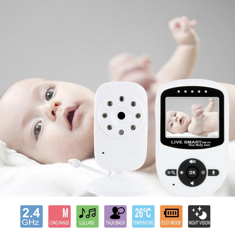 Pachet promo :Baby Monitor Video pentru bebelusi SI-LiveSmart SM24+Termometru digital EASYCARE 3