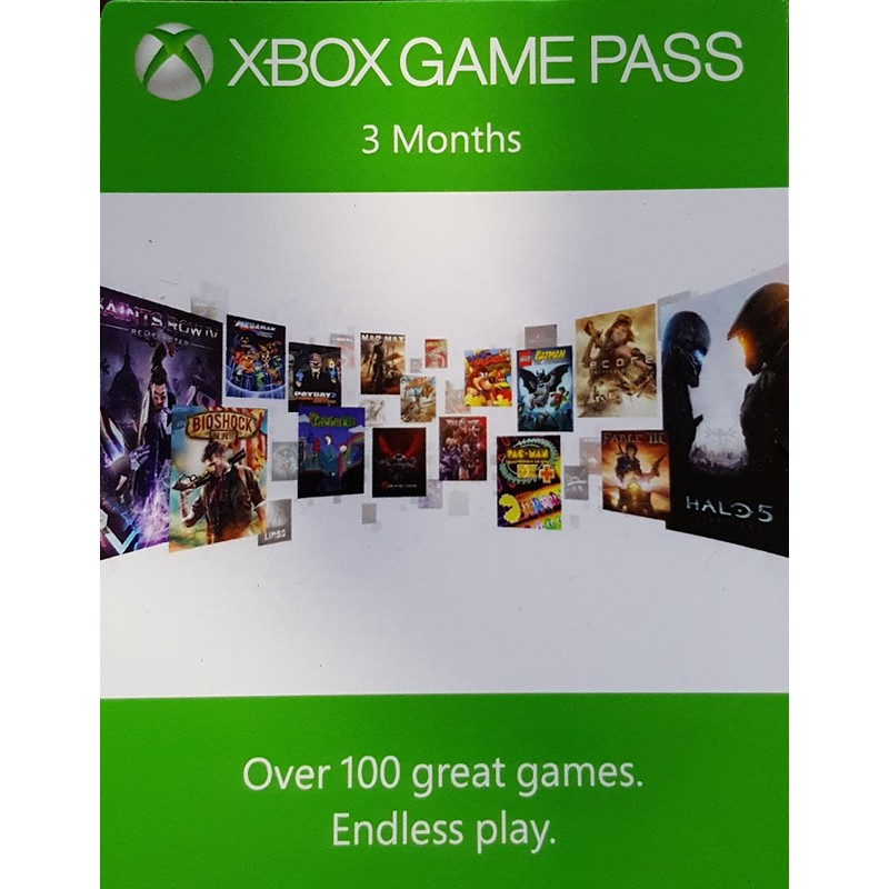 Abonament Xbox Game Pass 3 months 1