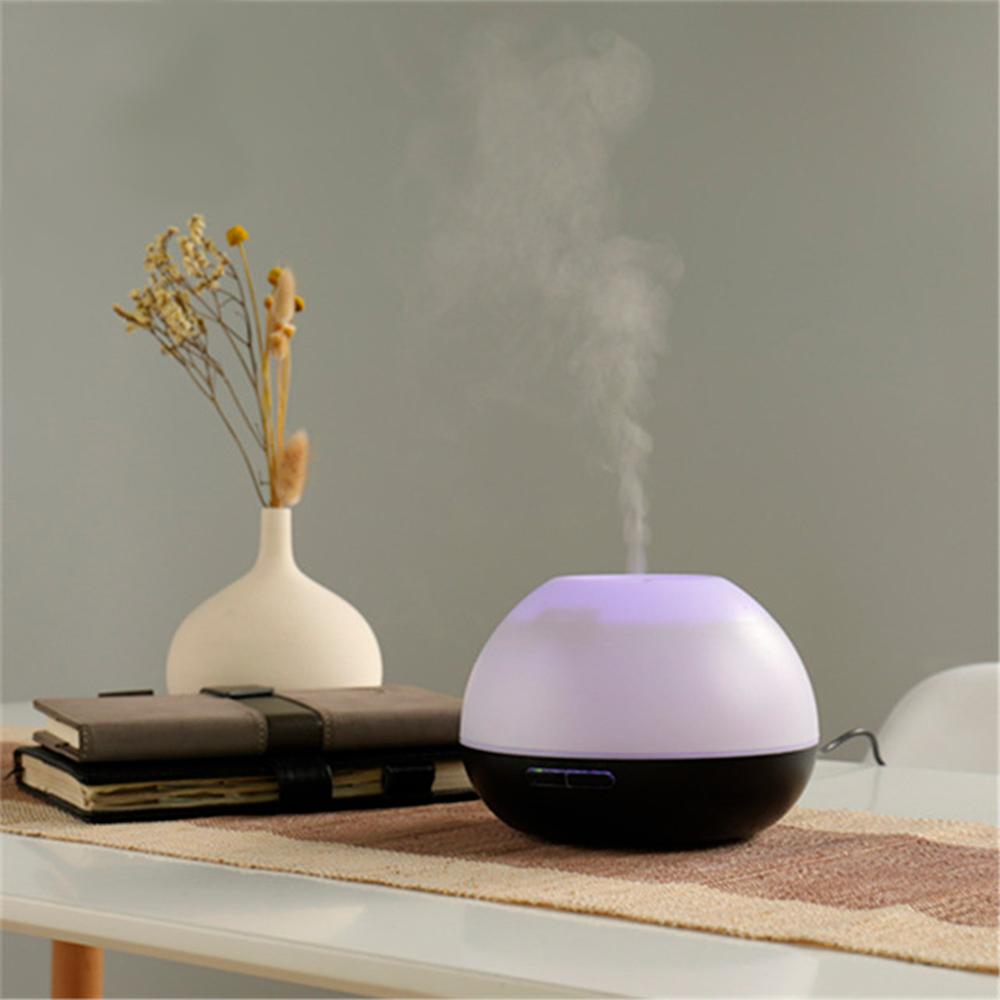 Difuzor aromaterapie, Zenix, GX-19K, 300ml, 16 ore, ultrasonic - Negru
