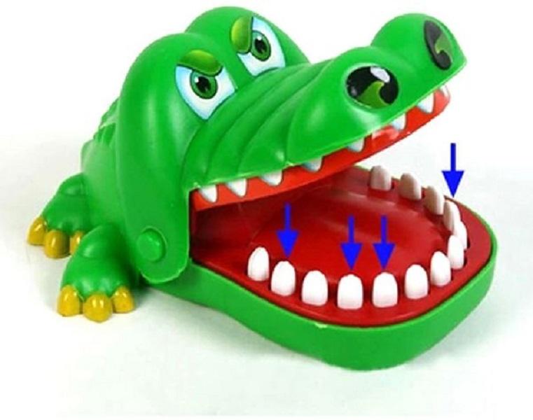 Joc Copii, La dentist cu Crocodilul, 3+, Verde 1