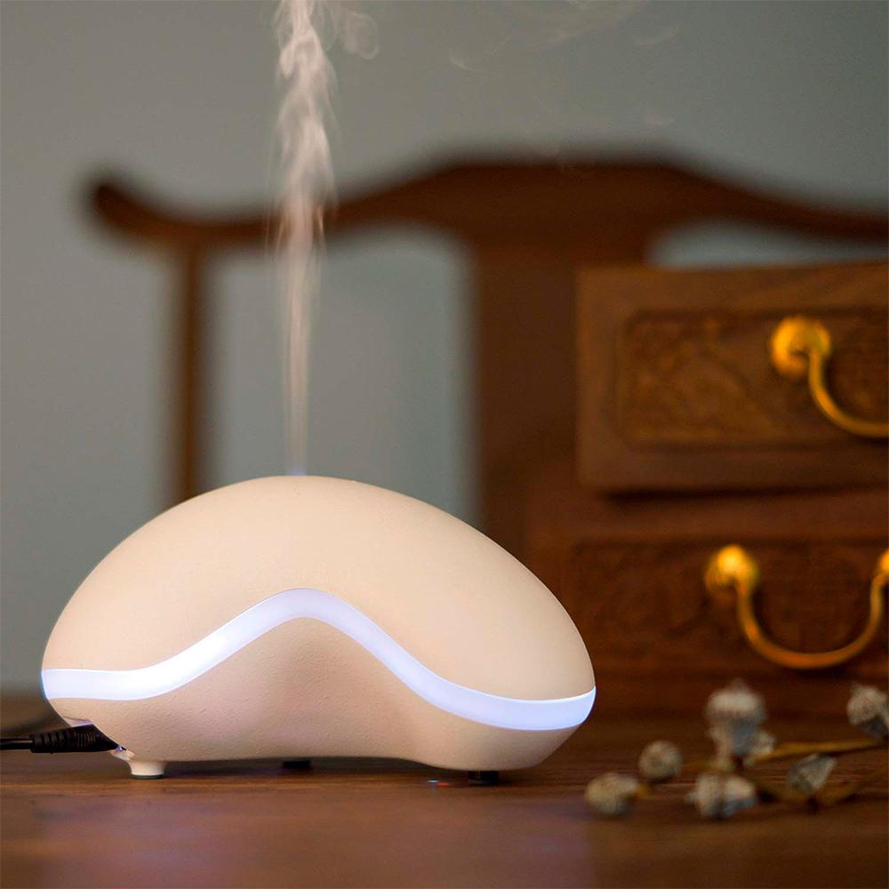 Difuzor aromaterapie, Zenix, GX-14K, 150ml, 8 ore, ultrasonic - Alb 0