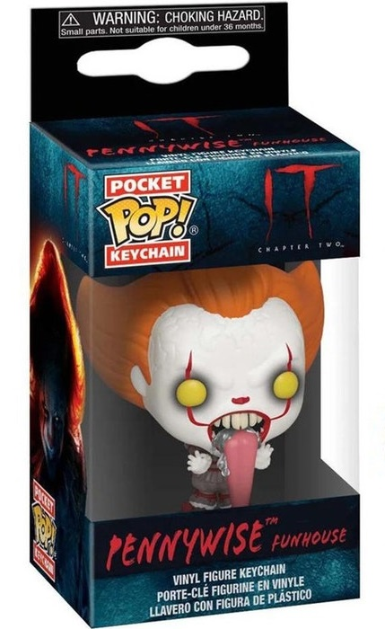 Breloc Funko Pocket POP! IT Chapter 2 - Pennywise Funhouse with Dog Tongue Vinyl Figure 0