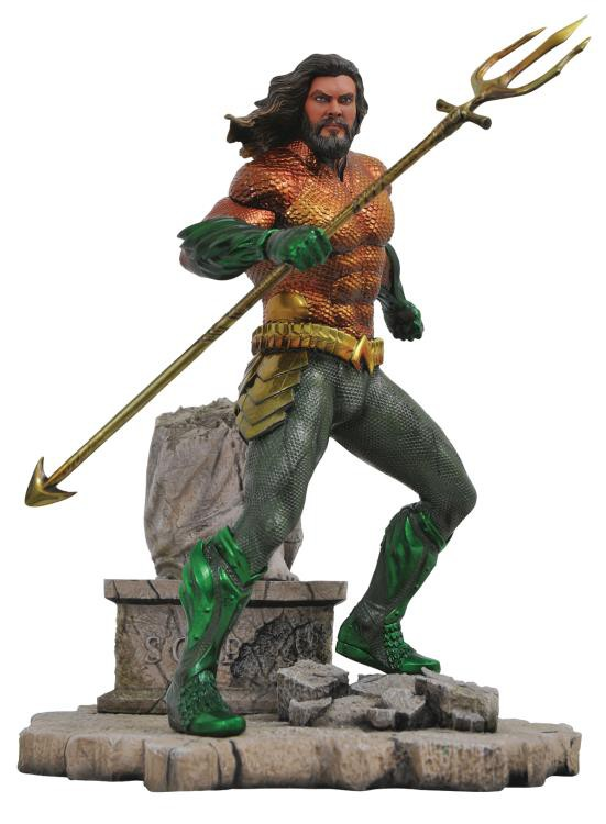 Figurina DC Gallery Aquaman PVC 0