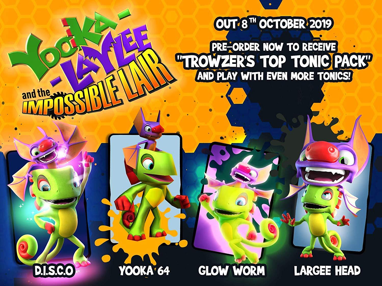 Joc Yooka-Laylee The Impossible Lair pentru Nintendo Switch 5