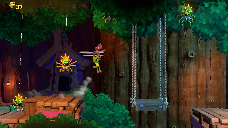 Joc Yooka-Laylee The Impossible Lair pentru PlayStation 4 3
