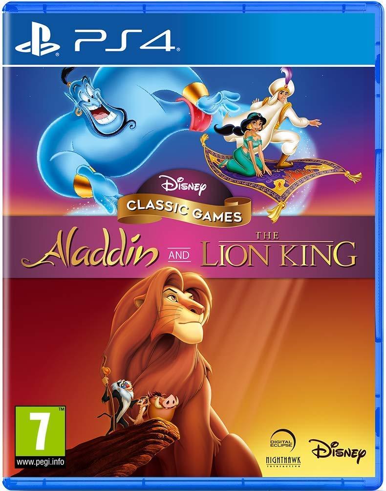 Joc Disney Classic Games Aladdin & The Lion King pentru PlayStation 4 0