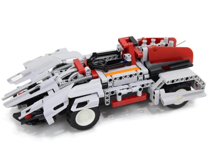 Set Constructie Mechanical Master 2 in 1 Sports Car RC 8009 cu telecoamnda 326 piese 2