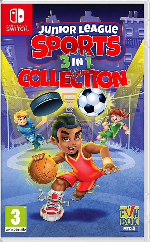Joc Junior League Sports 3-in-1 Collection Nintendo Switch0