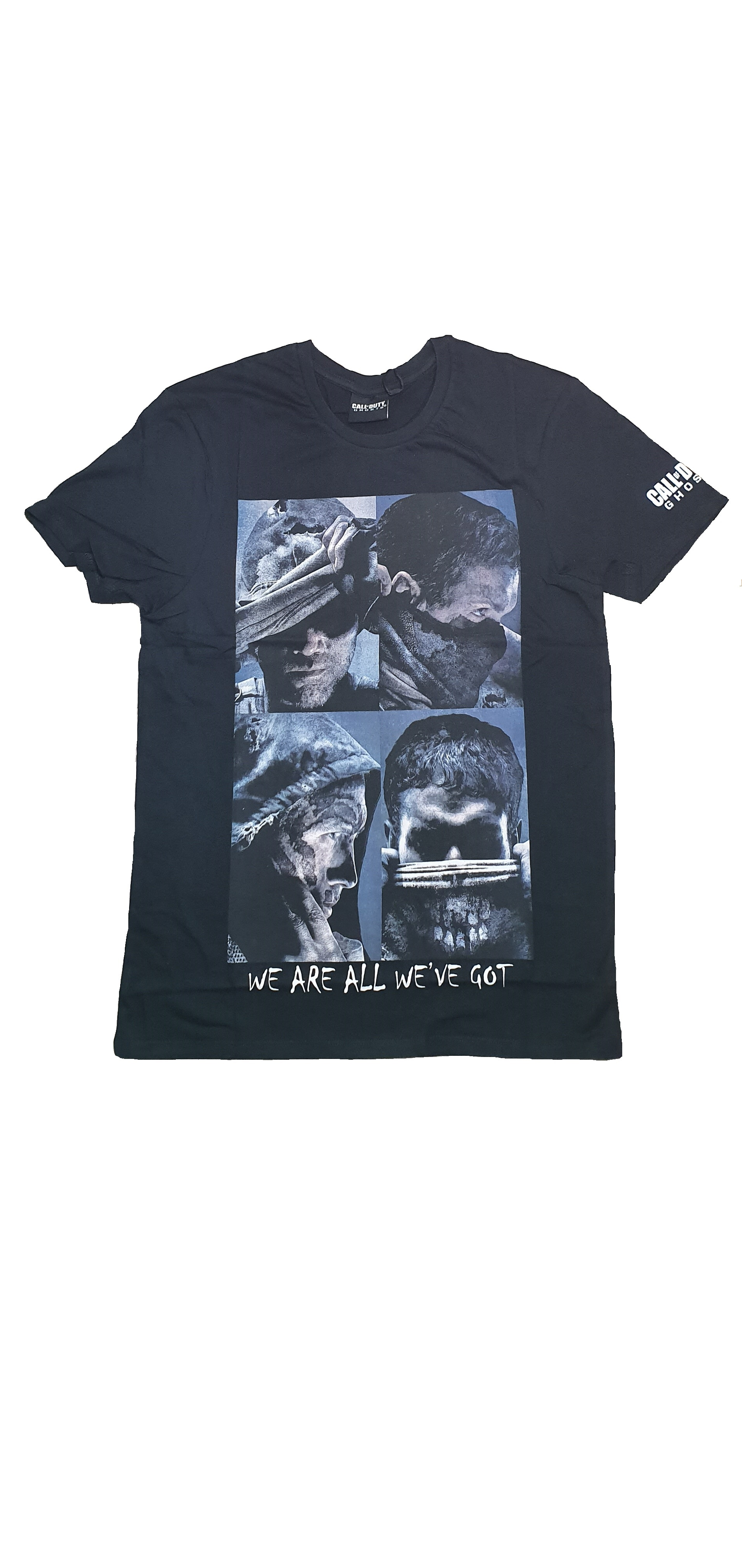 Tricou Call of Duty Ghosts Negru L 0