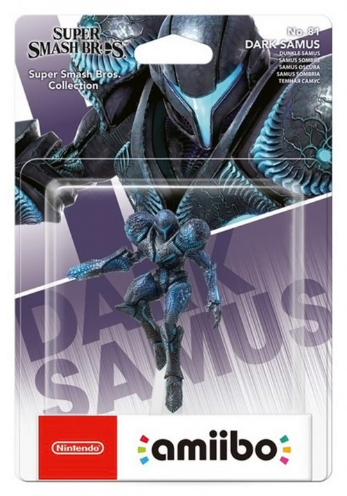 Figurina Nintedo Amiibo Dark Samus 0
