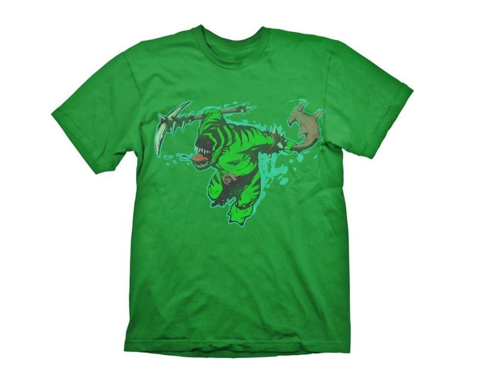 Tricou Dota 2 Tide Hunter Verde M 0