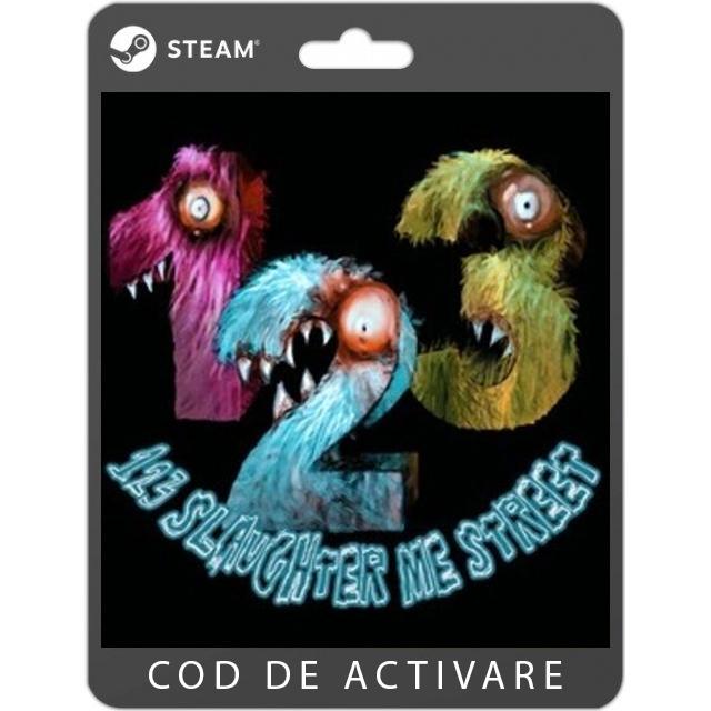 Joc 123 Slaughter Me Street pentru PC (cod de activare Steam) 0