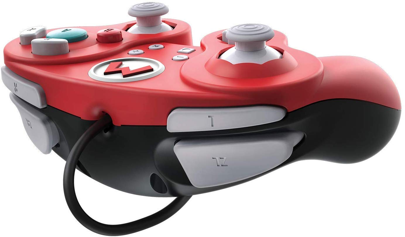 Controller cu Fir Nintendo Super Mario Smash Pad Pro Rosu pentru Nintendo Switch 1