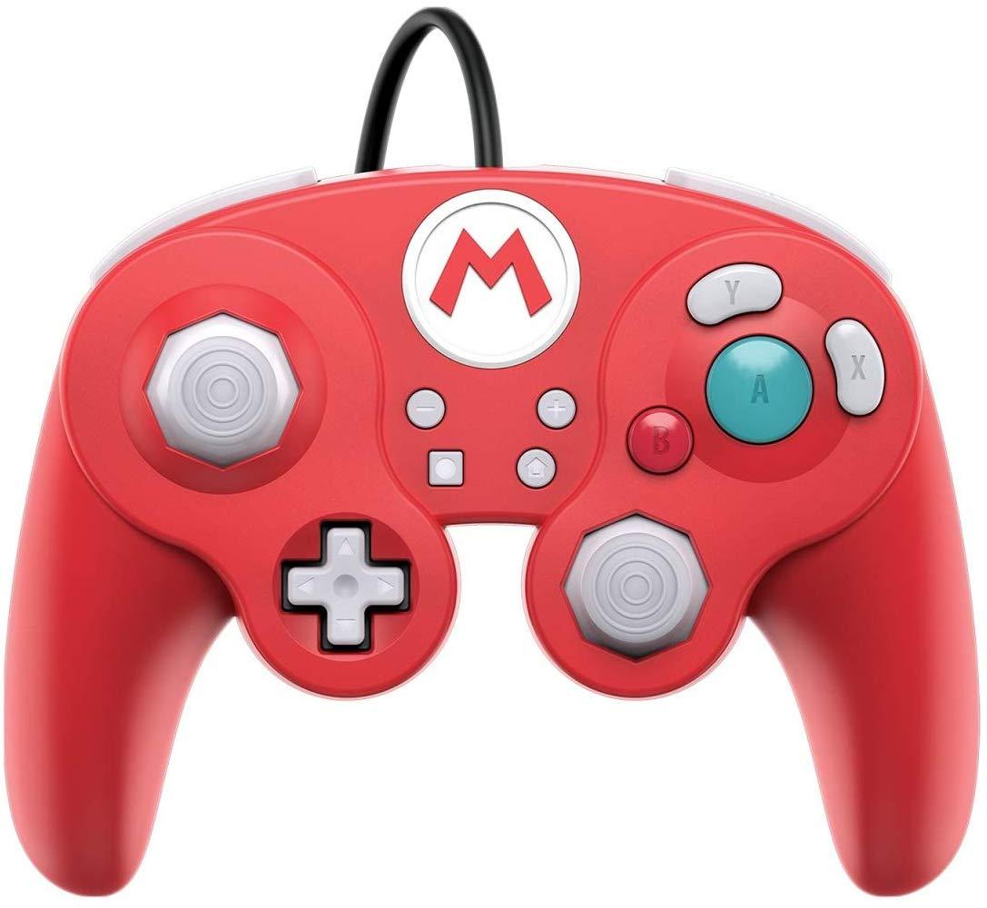 Controller cu Fir Nintendo Super Mario Smash Pad Pro Rosu pentru Nintendo Switch 0