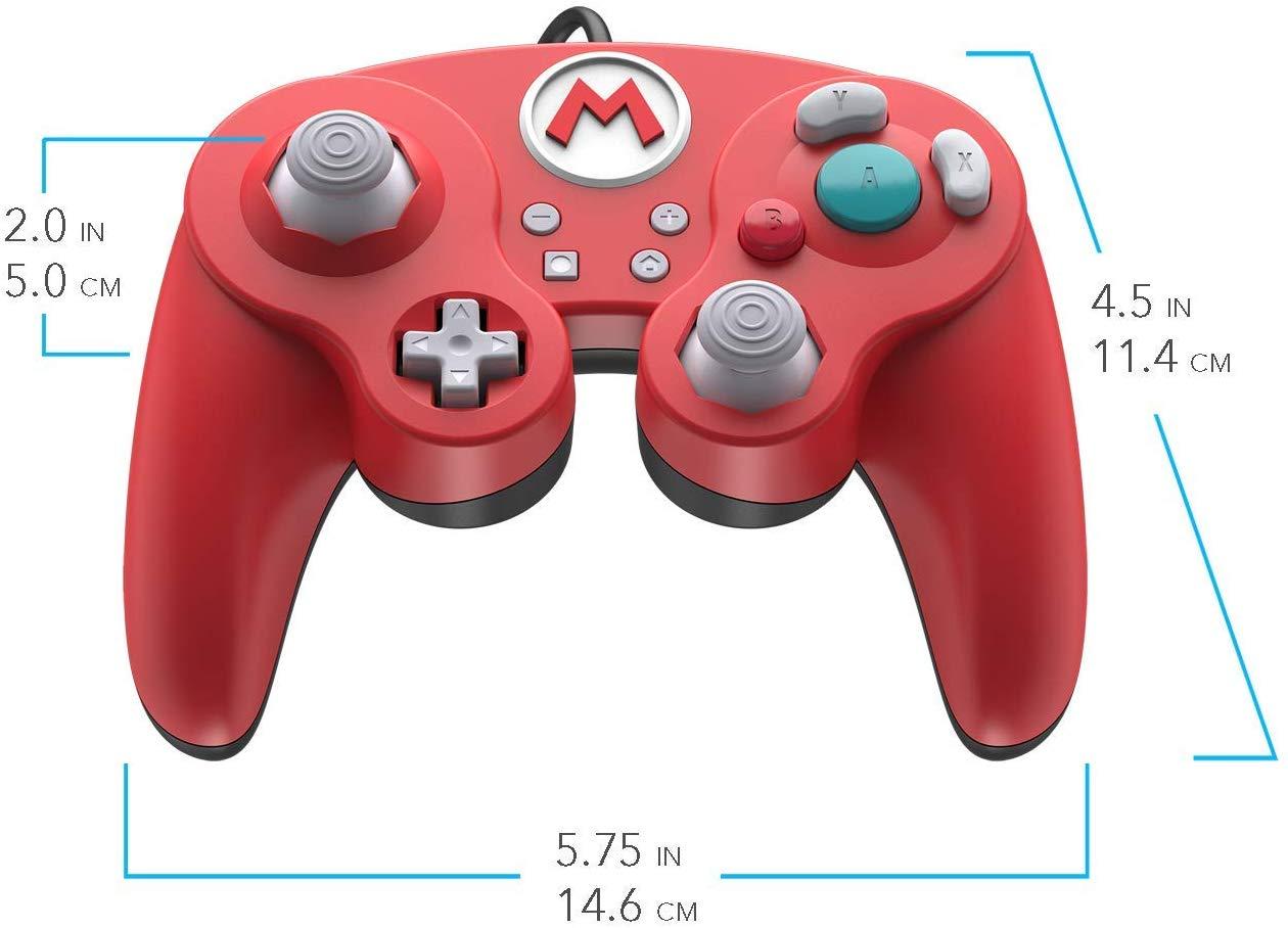 Controller cu Fir Nintendo Super Mario Smash Pad Pro Rosu pentru Nintendo Switch 3