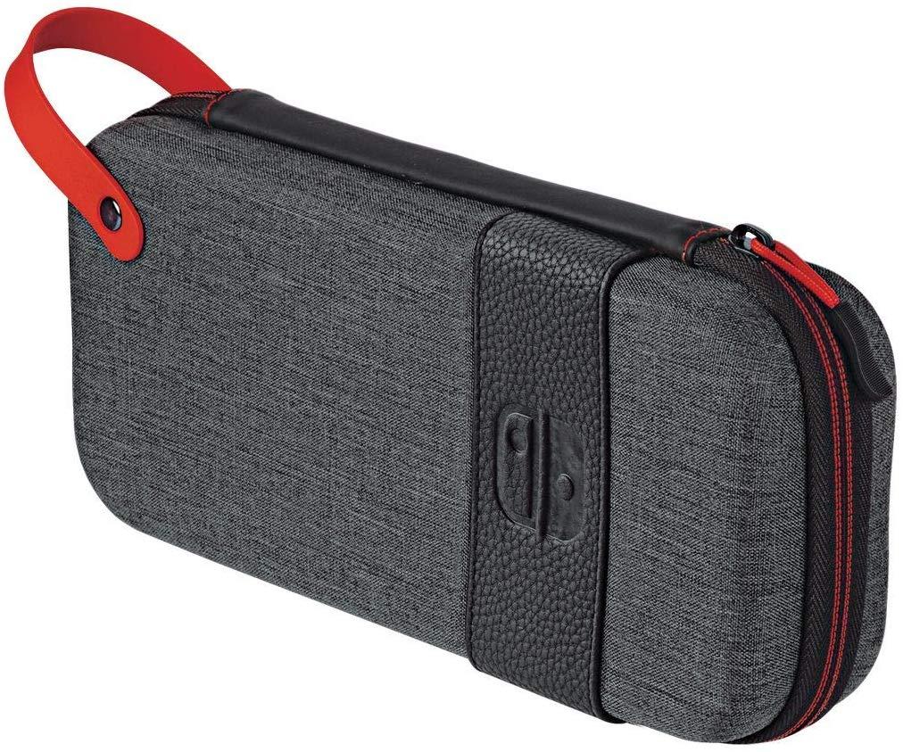 Carcasa Protectie Official Switch Deluxe Travel Case Elite Edition Gri pentru Nintendo Switch 3