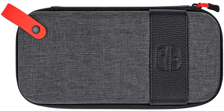 Carcasa Protectie Official Switch Deluxe Travel Case Elite Edition Gri pentru Nintendo Switch 0