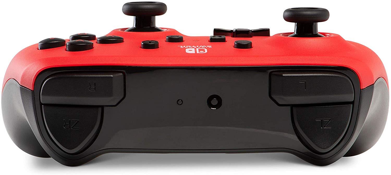 Controller Enhanced Wireless Switch Rosu cu Negru  pentru Nintendo Switch 1
