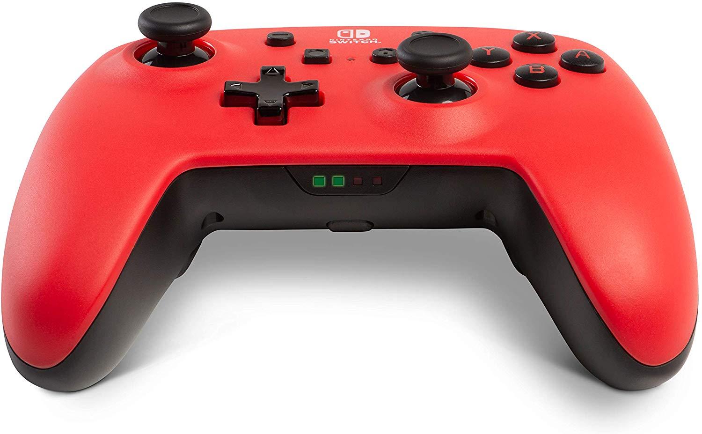 Controller Enhanced Wireless Switch Rosu cu Negru  pentru Nintendo Switch 2