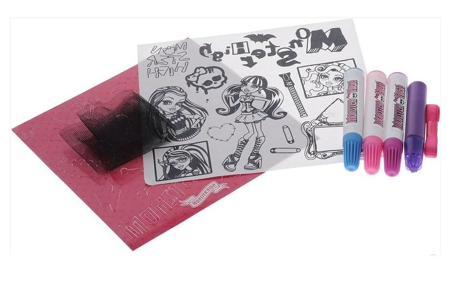 Set creatie Clementoni Monster High Style Your Look 61170 1