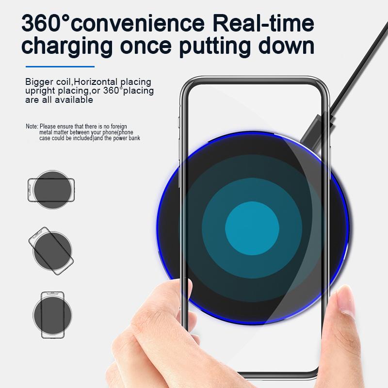 incarcator wireless fast charge smartphone