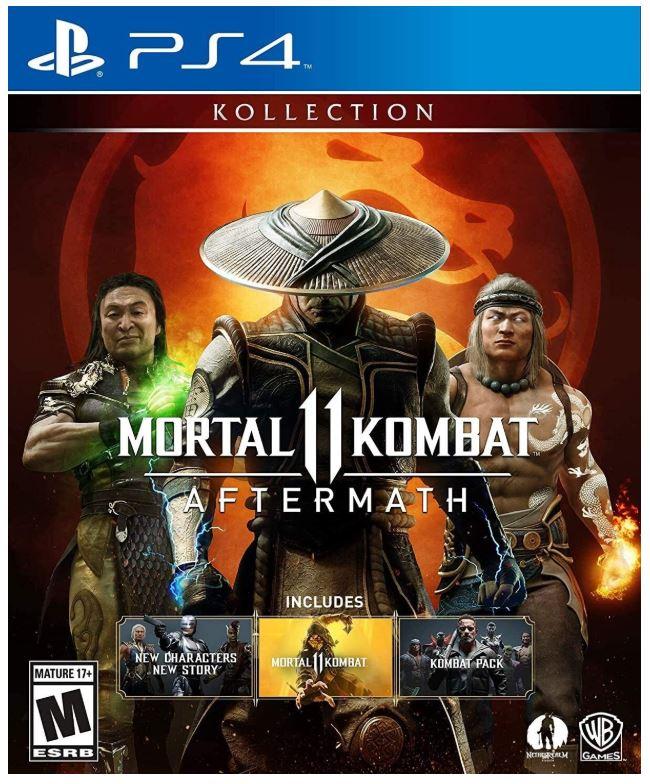 Joc Mortal Kombat 11 Aftermath Kollection pentru PS4 0