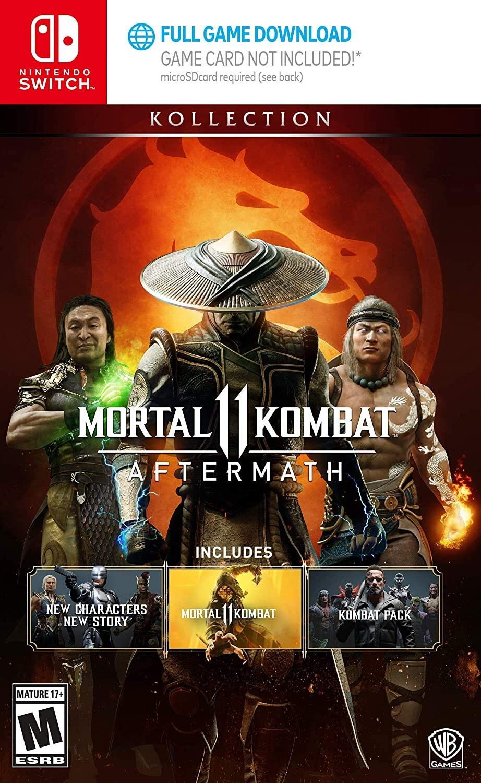 Joc Mortal Kombat 11 Aftermath Kollection pentru Nintendo Switch 0