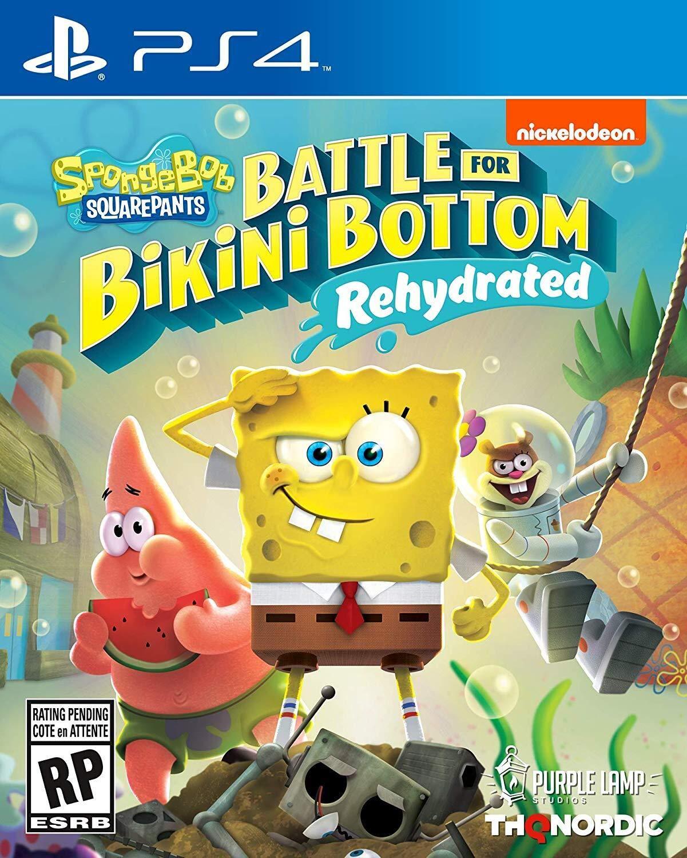 Joc SpongeBob SquarePants Battle for Bikini Bottom PS4 0