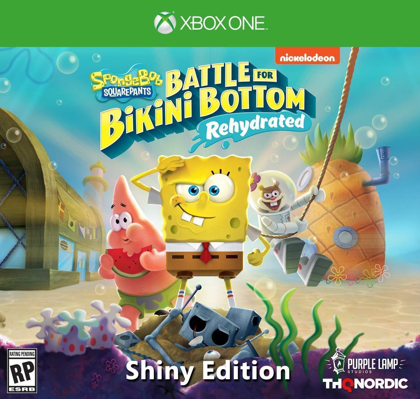 Joc SpongeBob SquarePants Battle for Bikini Bottom Xbox One 0
