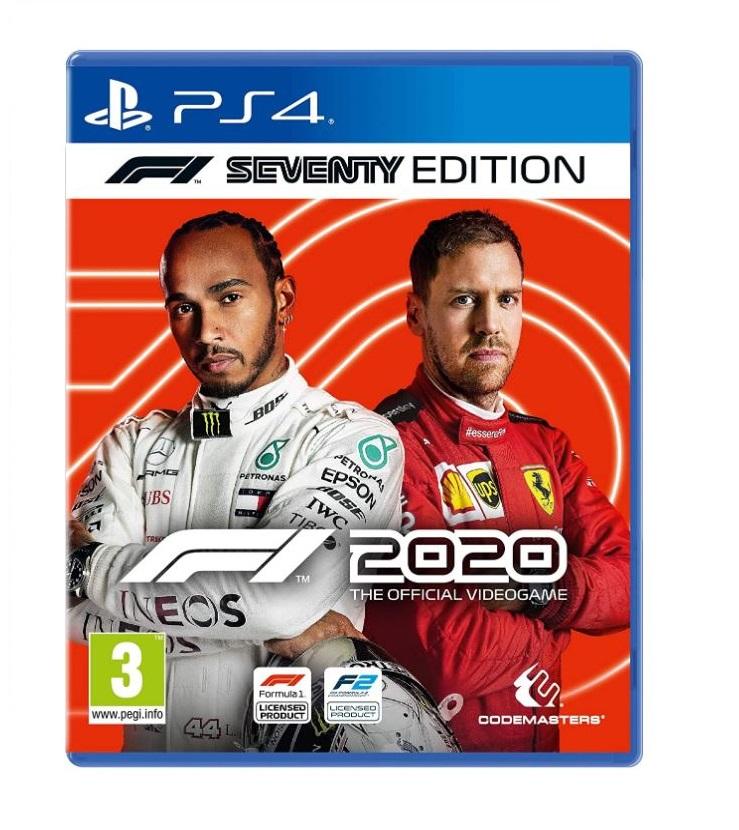 Joc F1 2020 Seventy Edition pentru PS4 0