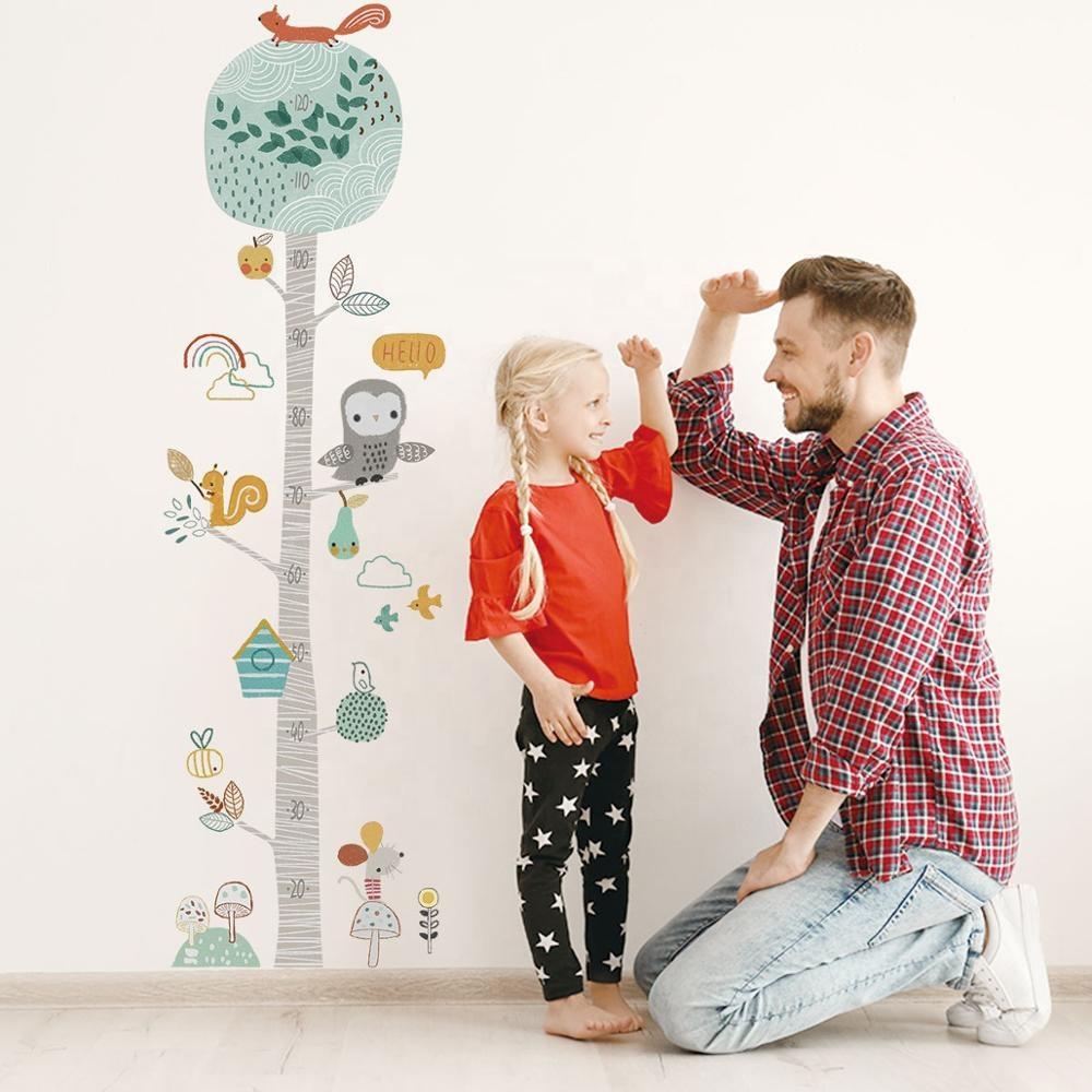 Metru masurare copii sticker autocolant