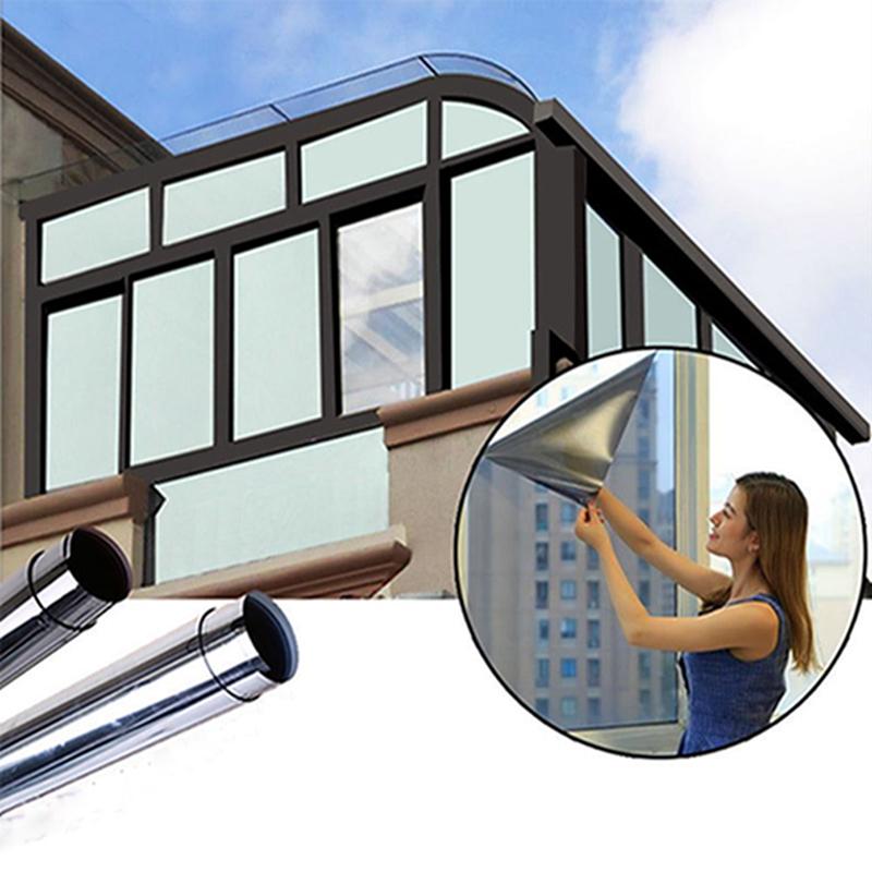 folie geam protectie solara oglinda