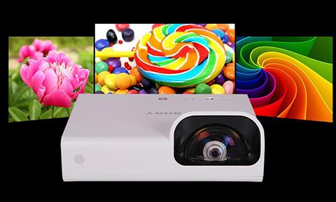 Videoproiector Short Throw Sony VPL-SX236 LCD, 3300 lumeni