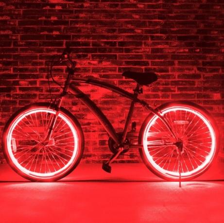 lumini led spite masina bicicelta motor motocicleta led rosu venitl