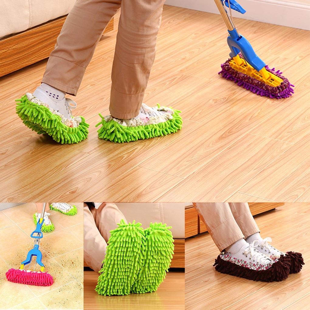 papuci mop de sters pe jos gresie parchet